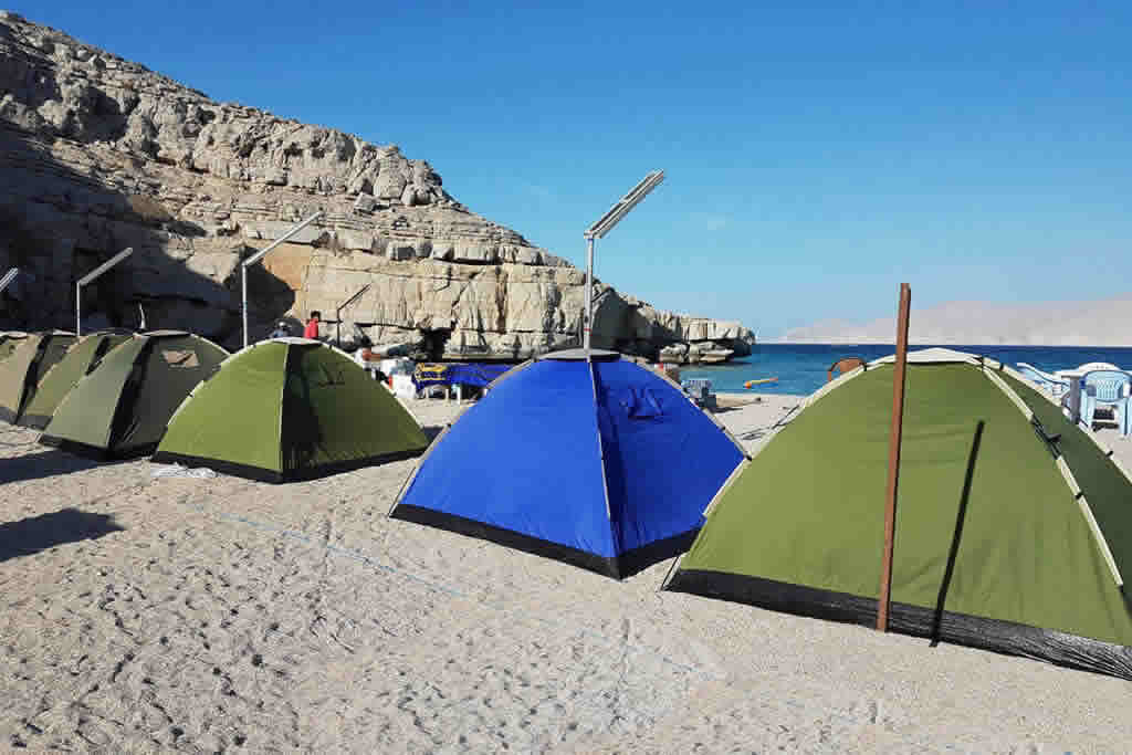 Musandam Overnight Camping at the Beach