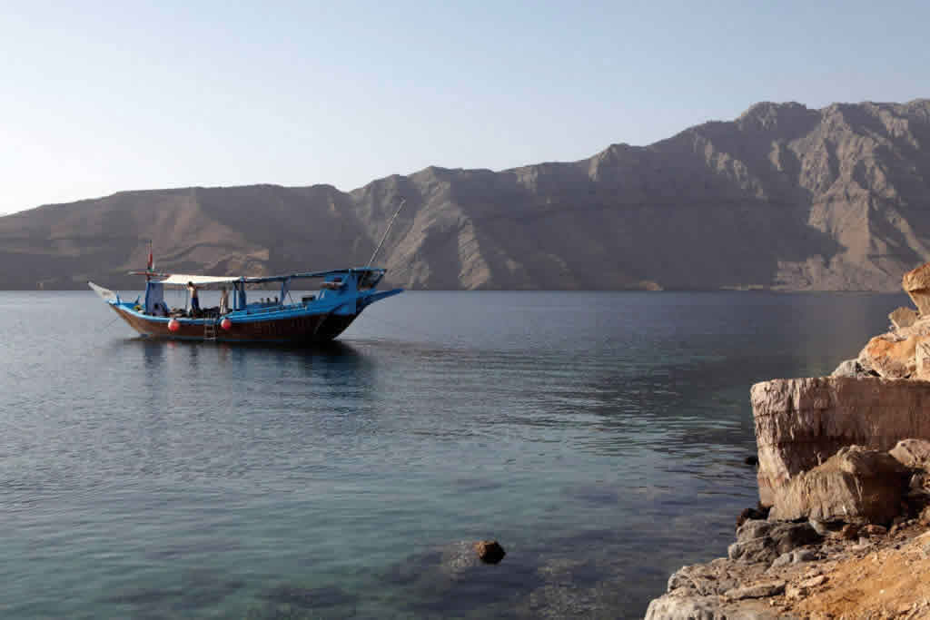 Musandam Kayaking