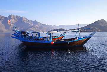 Full Day Dhow Cruise to Khor Sham with Dolphin Watching